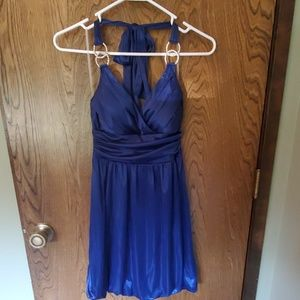 Navy blue formal/cocktail dress worn once
